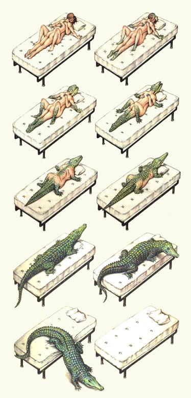 Crocodilus seraphinianus